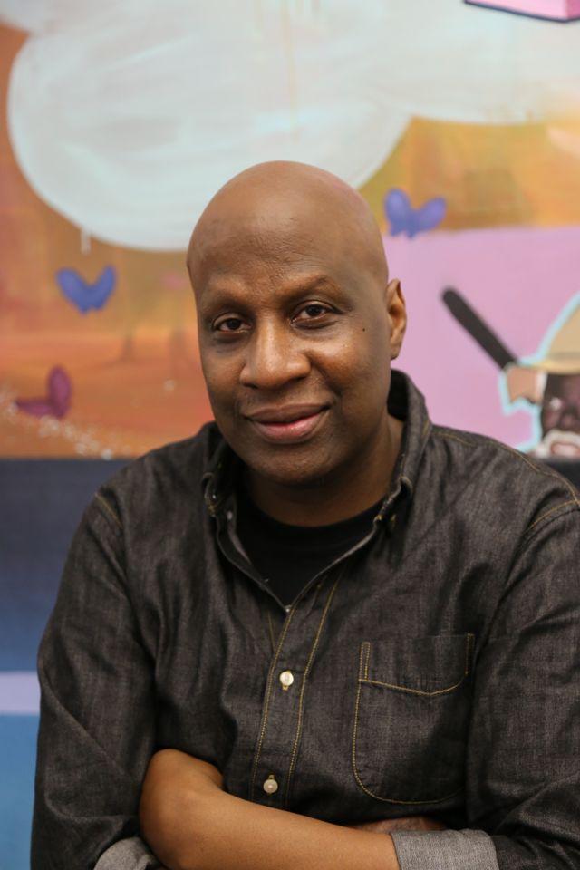 Artist Ronald Hall