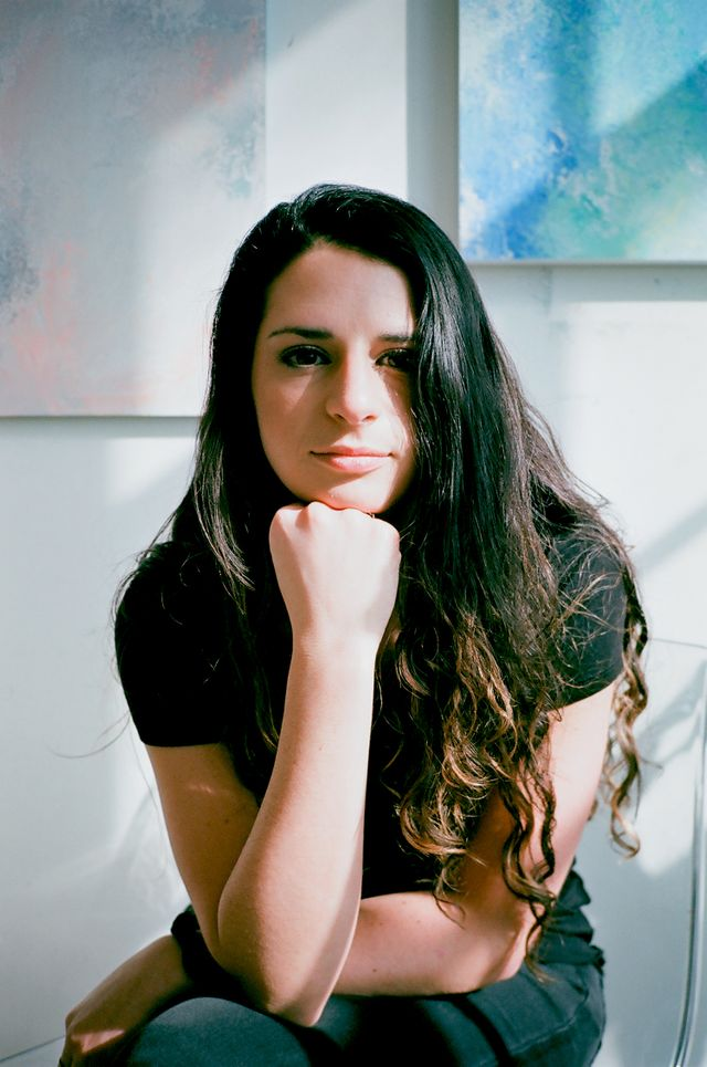 Artist Jacqueline Ferrante