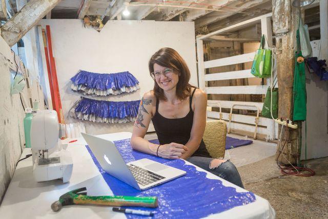 Artist Jodie Mim Goodnough