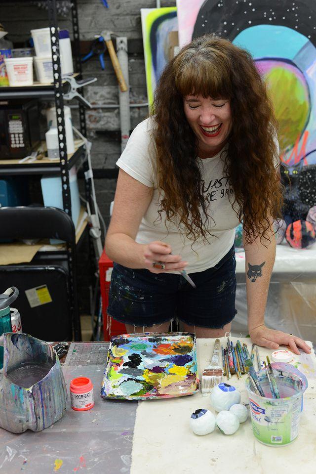 Artist Jen Shepard